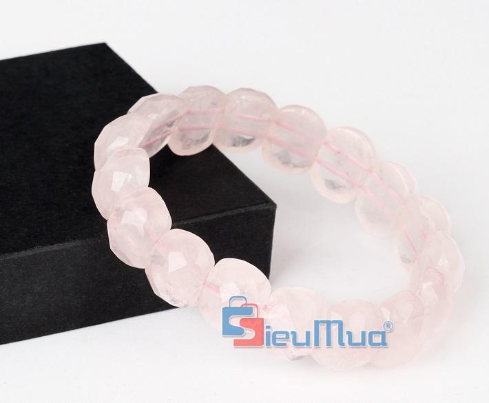 """Thạch anh hồng được mệnh danh là """"tình thương thạch"""" là biểu tượng của tình yêu, hôn nhân"""