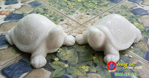 rùa đá trắng